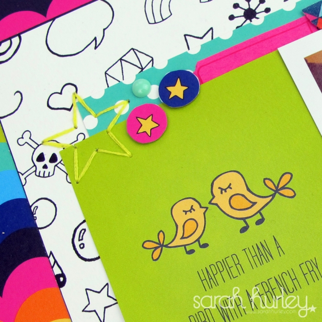 A Few of My Favourite Things... kit inspiration Close Up 2 - Sarah Hurley Scrapbooking