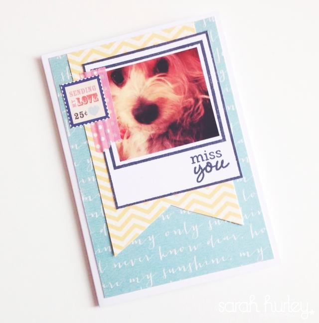 Washi Tape Card Sarah Hurley