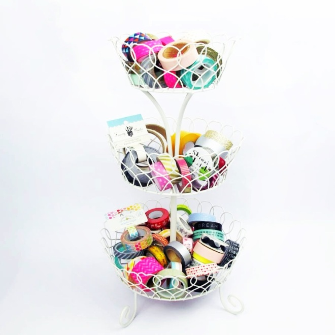 washi tape storage - sarah hurley