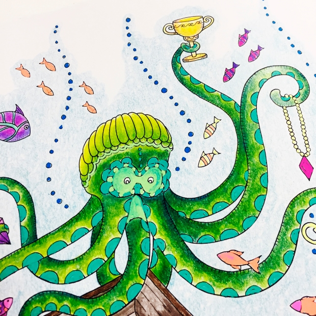 Lost Ocean Colouring With Hochanda