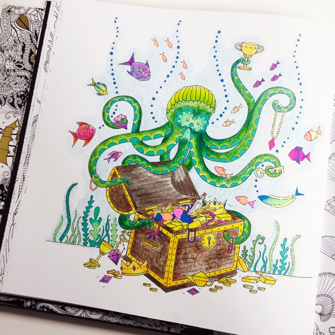 Lost Ocean Colouring Pencils Hochanda Sarah Hurley