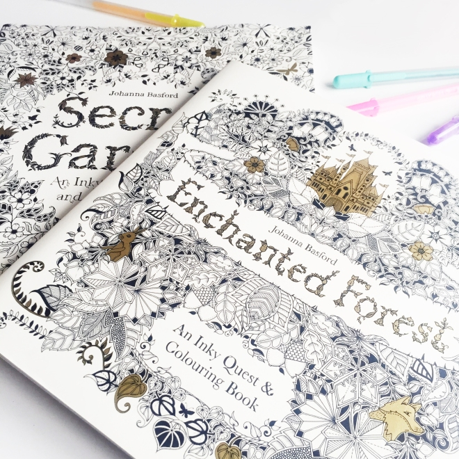 my favourite colouring books sarah hurley