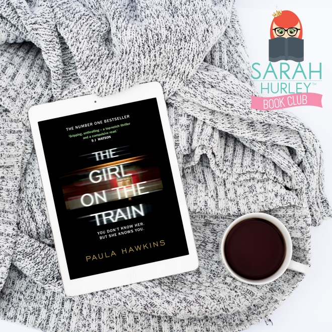 Sarah Hurley Bookclub Welcome Girl on the Train