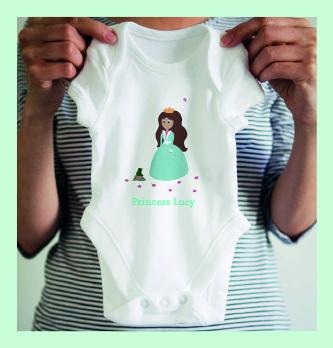 Princess Babygrow