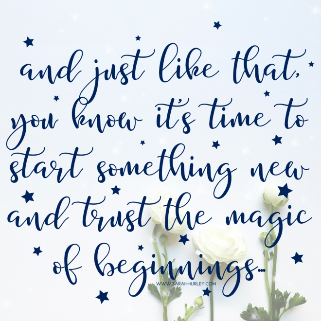 trust beginnings quote