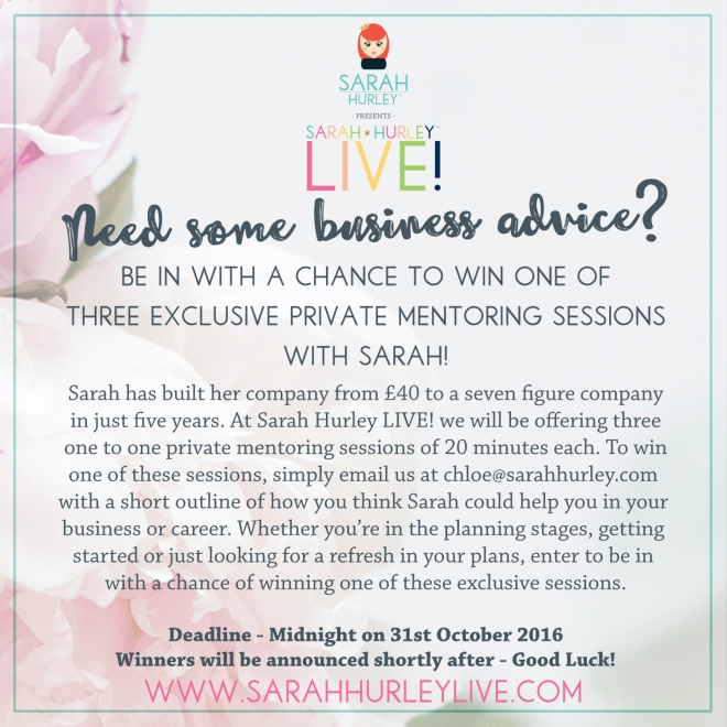 sarah-hurley-live-mentoring-competition
