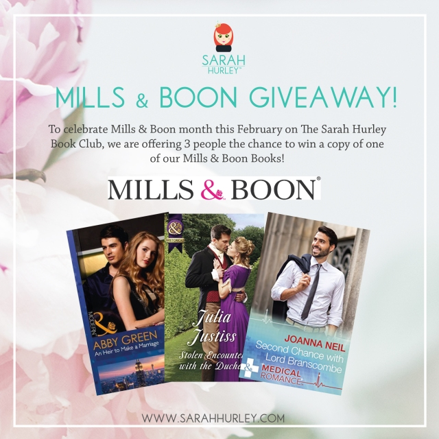 Mills & Boon Giveaway