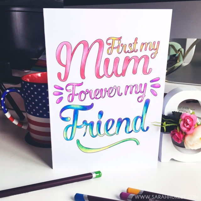 Printable Colour In Mothers Day Card Sarah Hurley