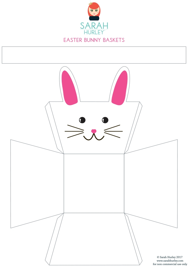 Easter Bunny Basket Printable Free Download - Sarah Hurley.jpg