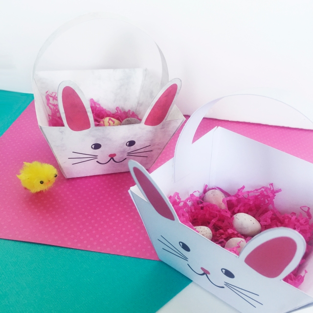 Make your own Easter Bunny Baskets Sarah Hurley