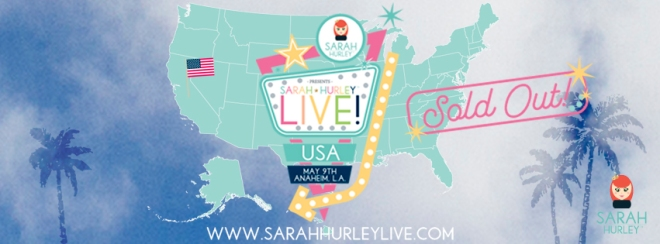 SH LIVE USA Facebook banner sold out