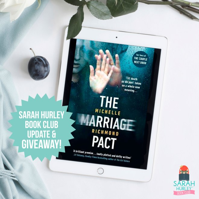 Sarah-Hurley-Book-Club-The-Marriage-Pact-Michelle-Richmond-Penguin-Giveaway