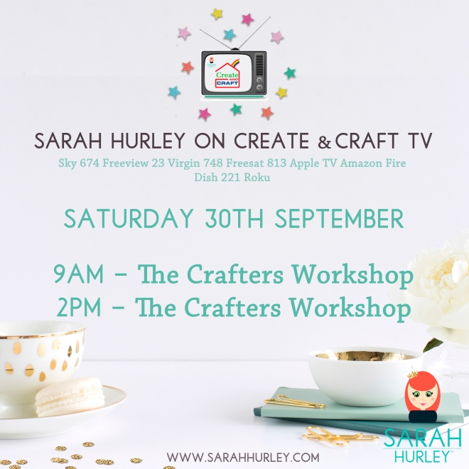 Sarah Hurley on Create & Craft.jpg